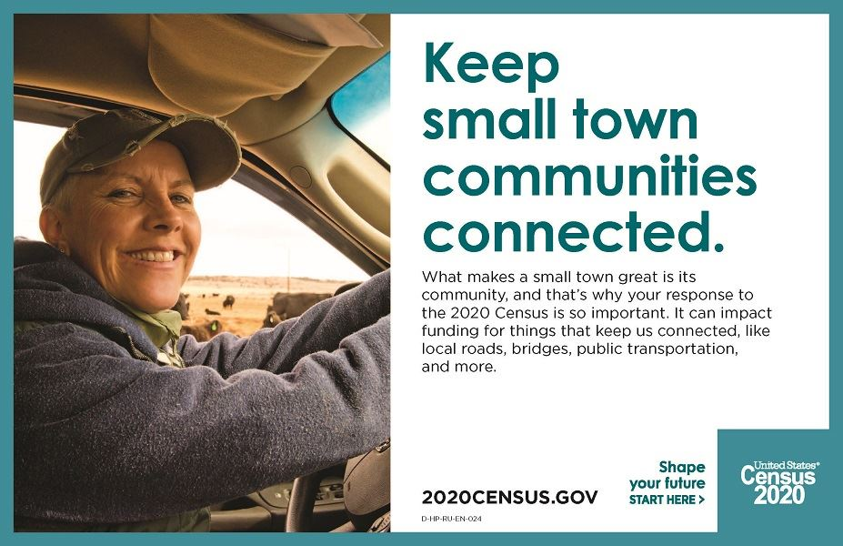 Keep communities connected through the census