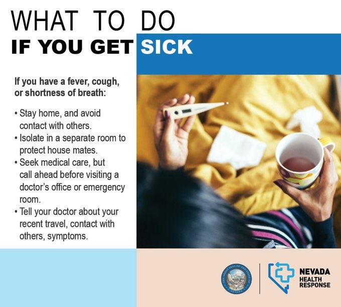 What to do if get sick